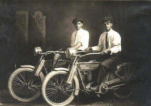 William S Harley and Arthur Davidson