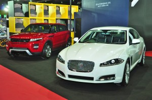 2013 Jaguar and Range Rover