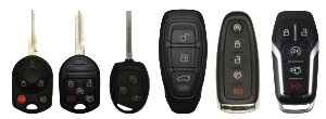 FORD Remote Key types