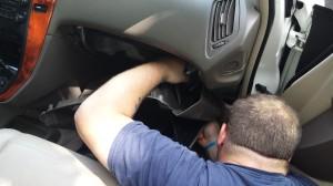 Removing a Lexus ECU