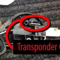 Peterbilt transponder chip location