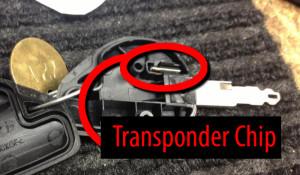 Peterbilt transponder chip location