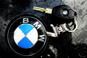 BMW laser cut key