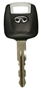 Infiniti transponder key