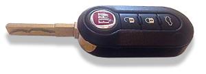 Fiat 500 Flip Key
