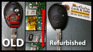 2000 Land Rover Discovery Remote Key Repair