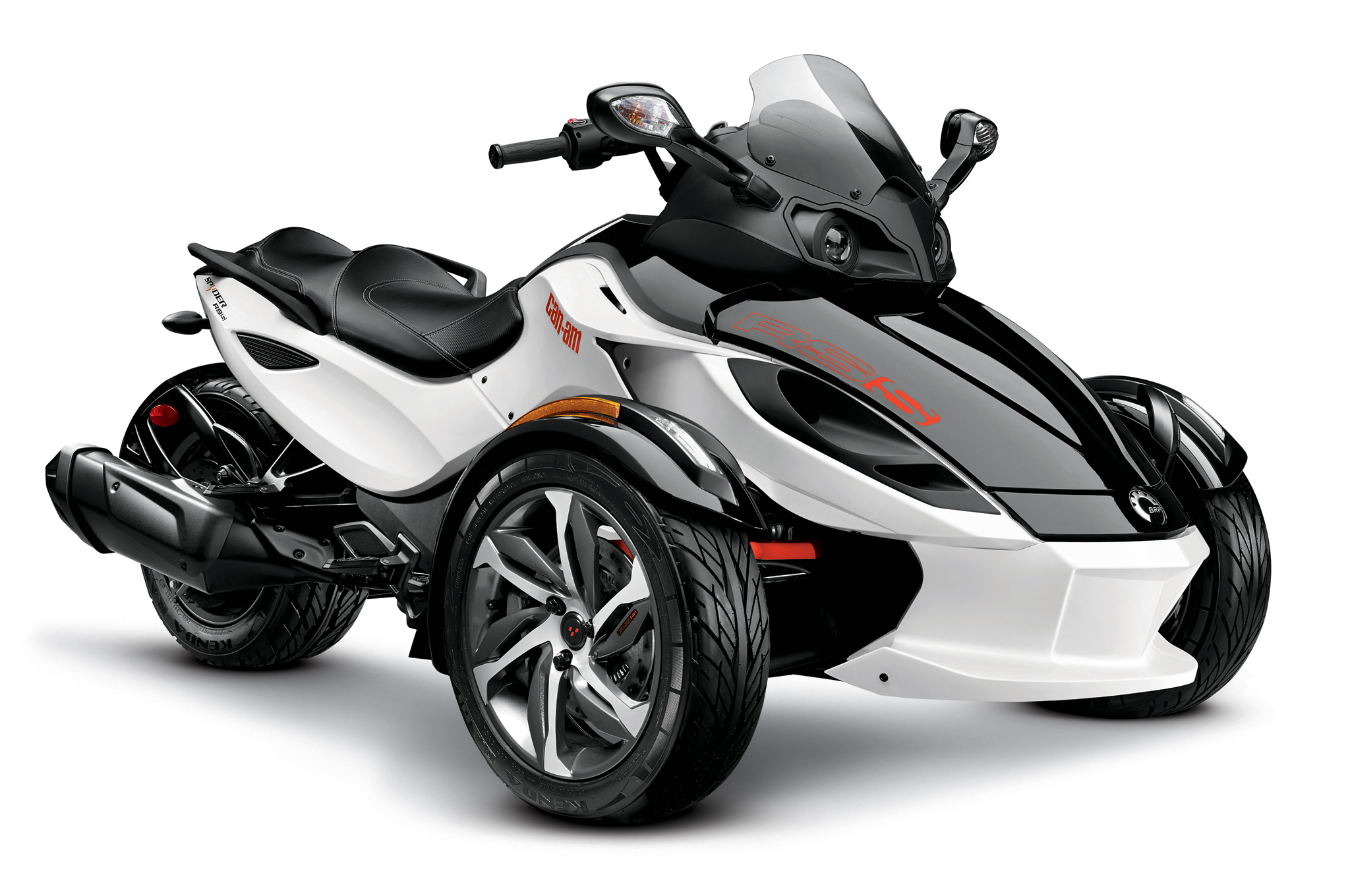 2014 can am spyder front