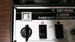 VATS pellet number reader and interrogator by Kent Moore