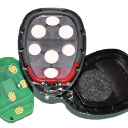 fixing the pad on a GM keyless entry remote